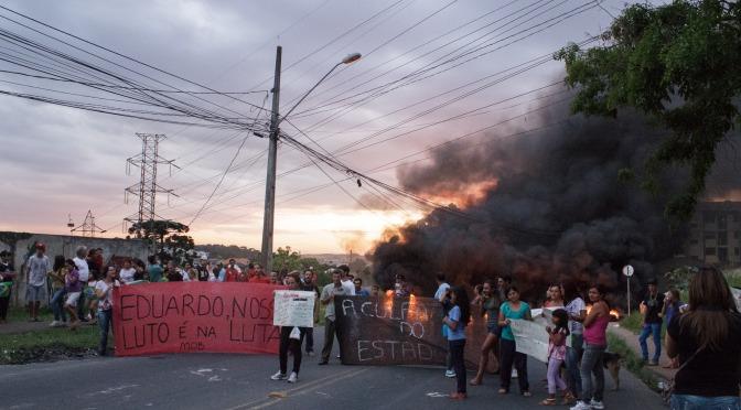 Eduardo Presente! Tragédia e Ação Direta, o Luto e a Luta na Portelinha