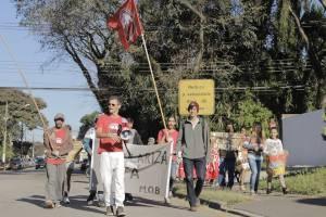 [MOB-PR] LUZ É UM DIREITO! Manifestação na COPEL Santa Quitéria 13/08/2015