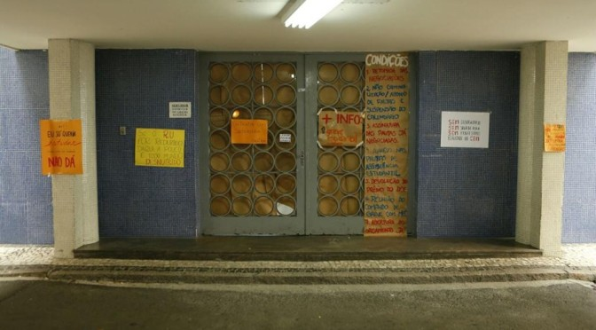 Todo apoio à Ocupação da Reitoria da UFPR! Greve, Ocupação e Piquetes pela Educação Pública!