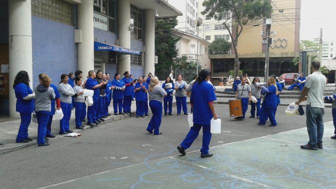 Toda solidariedade à greve das trabalhadoras terceirizadas da UFPR!