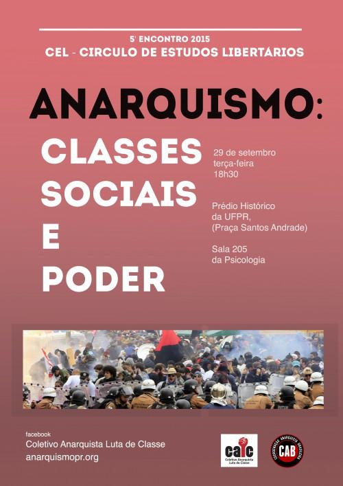 [CURITIBA] 5º ENCONTRO DO CÍRCULO DE ESTUDOS LIBERTÁRIOS (CEL) – NA PRÓXIMA TERÇA (29/09/2015)!