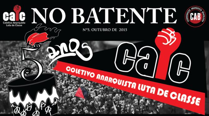 No Batente #5 – Retomada do Anarquismo Organizado no Paraná