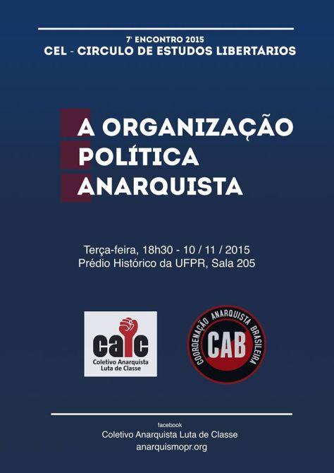 A Organização Política Anarquista