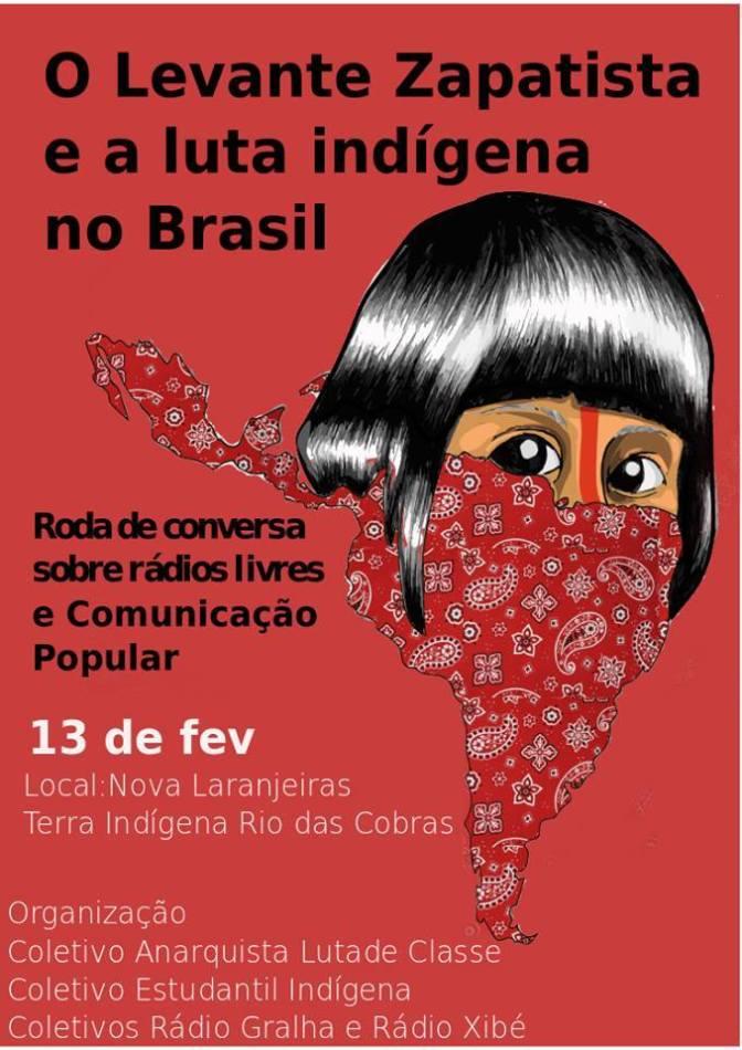 [NOVAS LARANJEIRAS] O Levante Zapatista e a Luta Indígena no Brasil