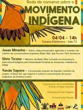 [CURITIBA] Roda de conversa sobre o Movimento Indígena