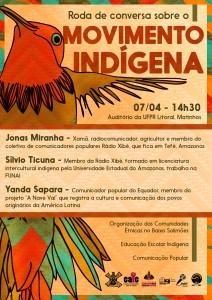 [MATINHOS] Roda de conversa sobre o Movimento Indígena