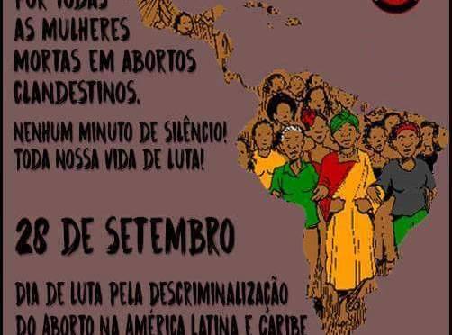 [CAB] 28 de setembro: Dia de Luta pela Descriminalização do Aborto na América Latina e Caribe