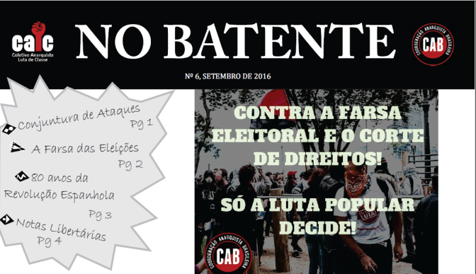 No Batente #6 – Só a Luta Popular Decide!