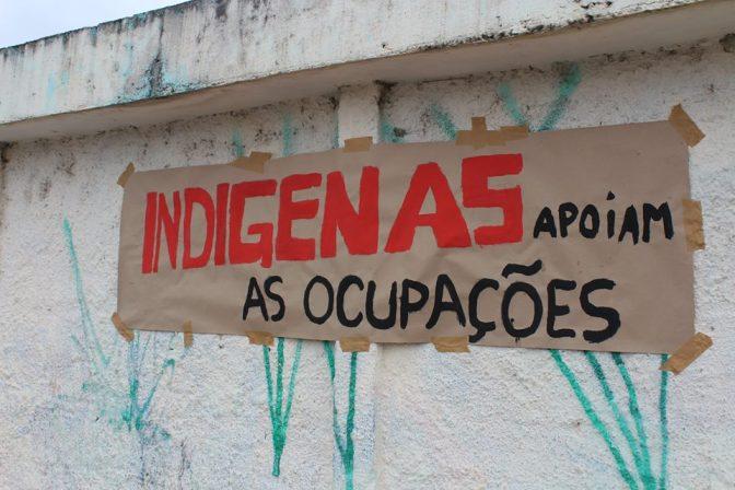 Todo apoio à ocupação da UFFS em Laranjeiras do Sul-PR e da UEA em Tefé-AM! Viva a luta autônoma indígena, ribeirinha e camponesa estudantil!