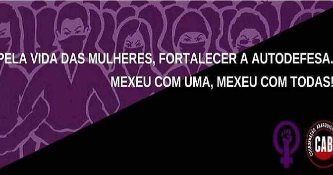 [CAB] 25 de novembro: Dia Internacional da Não-Violência Contra a Mulher. Lutar contra todos os tipos de violência hoje e sempre!
