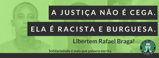 [FARJ] Nota de repúdio à condenação de Rafael Braga a 11 anos de prisão