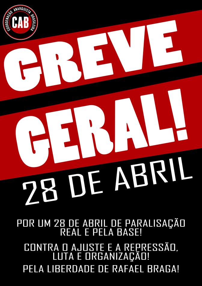 [CAB] Convocatória para greve geral, sexta-feira, 28 de abril