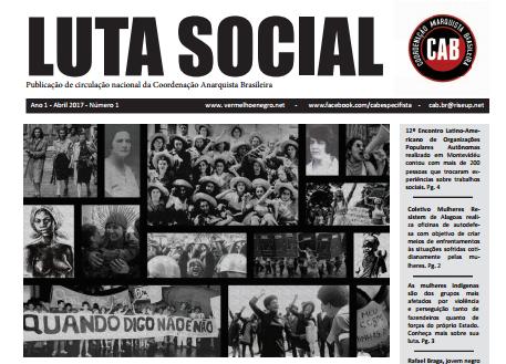 [CAB] Luta Social #1 – Novo tabloide da CAB