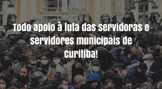 26 de Junho de 2017 – Dia de Luta e Luto dos Servidores Municipais de Curitiba!