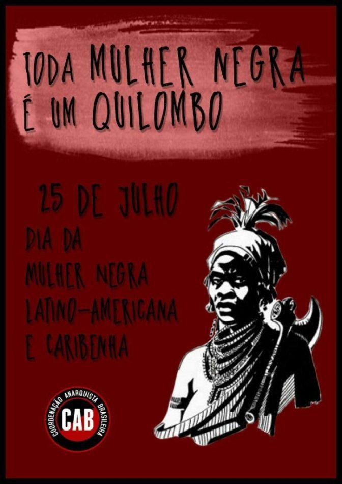 [CAB] 25 de julho – Dia da Mulher Negra Latino-Americana e Caribenha