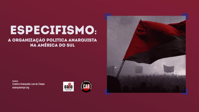 [CURITIBA] 8º ENCONTRO DO CÍRCULO DE ESTUDOS LIBERTÁRIOS (CEL) – TERÇA (28/11/2017)
