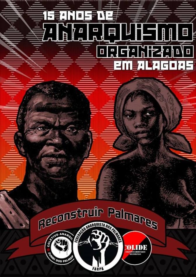 Saudações do CALC aos 15 anos de anarquismo organizado em Alagoas! Viva a FARPA!
