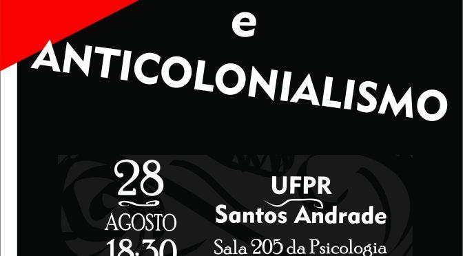 [CURITIBA] 4º ENCONTRO DO CÍRCULO DE ESTUDOS LIBERTÁRIOS (CEL) – NA TERÇA (28/08/2018)!