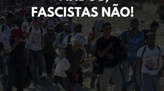 [CAB] REFUGIADOS SÃO BEM VINDOS, FASCISTAS NÃO!