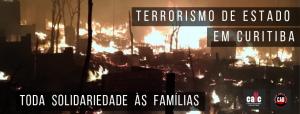 Terrorismo de Estado em Curitiba – 07/12/2018