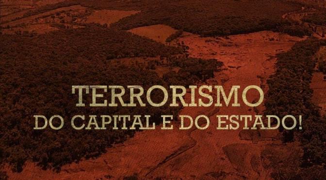 [CAB] A VIDA DOS TRABALHADORES NÃO VALE NADA: TERRORISMO DO CAPITAL E DO ESTADO!