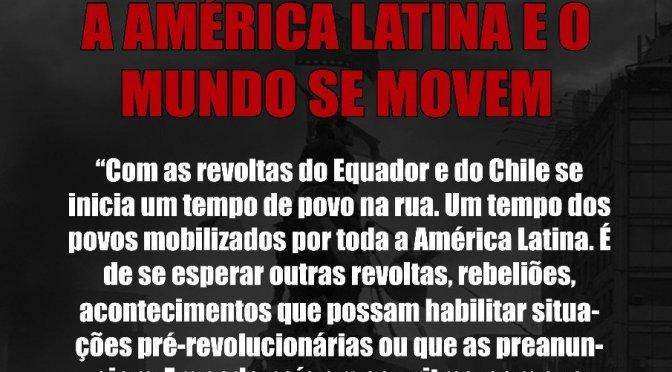 ANÁLISE DE CONJUNTURA: A AMÉRICA LATINA E O MUNDO SE MOVEM