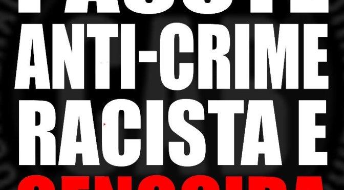 [CAB] CONTRA O PACOTE RACISTA E GENOCIDA DE SÉRGIO MORO!